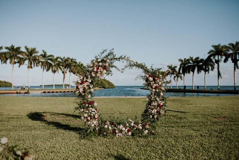 ground floral arrangement