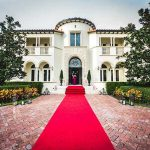venue with red carpet