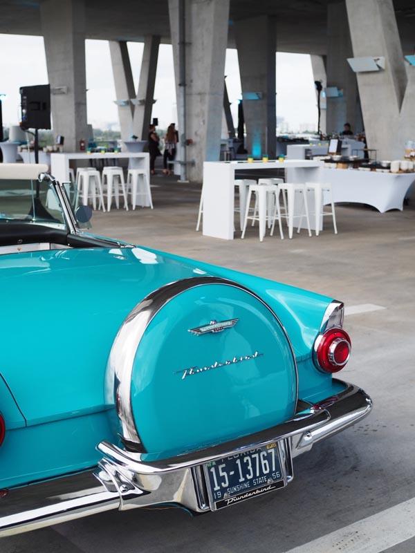 1956 Thunderbird back end