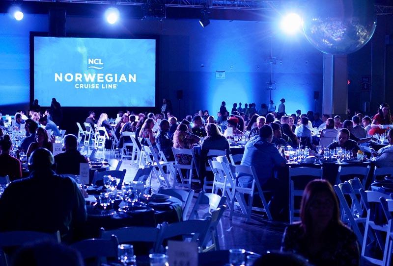 norwegian cruise line corporate event