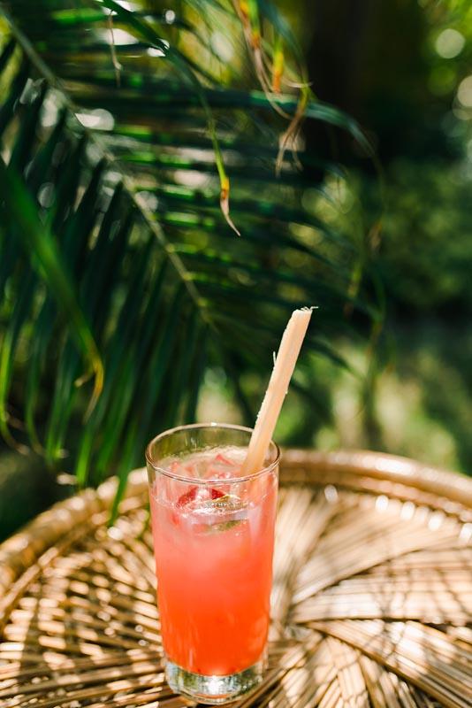 alcoholic drink outside